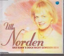 Ulla Norden Das kann's doch nicht gewesen sein (1997; 2 tracks) [Maxi-CD]