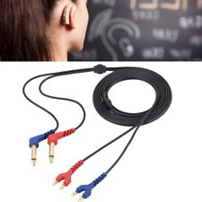 Headset Cable Wire for Headphone Air Conduction Audiometer Hearing Tester 2m