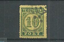 Ned. Indie  P2  Port 1874  VFU/gebr  CV 190 €