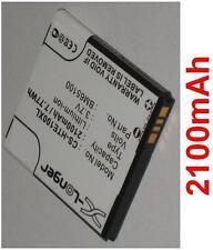 Batterie 2100mAh type BM65100 HTX21UAA Pour HTC Desire 7060