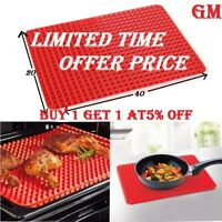 GM Large Pyramid Pan Non Stick Silicone Cooking Mat Oven Baking Tray