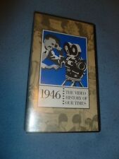 1946 VHS Tape Documentary The Video History Of Our Times Easton Press Universal