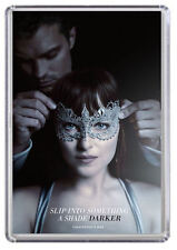 Fifty shades Darker movie poster, Christian Grey Fridge Magnet