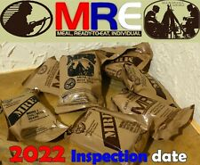 2022  #FRESH# U.S ARMY MRE Food Pack Survival Camping Meal USA US RCIR Ration