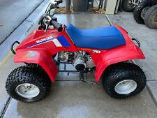 Rare 1986 Honda TRX70 Four Wheeler ATV