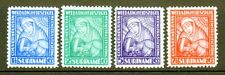 "Surinam SC# B4-7, MH,(4)stamp ""Nurse & Patient Semi-Postal Set Issued in 1928/"