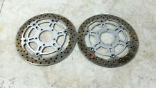 08 Suzuki VLR 1800 T C109R C 109 R Boulevard front brake rotors disks