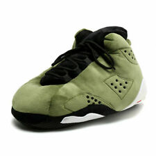 ONE SIZE FITS ALL AJ STYLE GREEN BCK SLIPPERS (SNUG SHOES TRAINERS SNEAKERS)