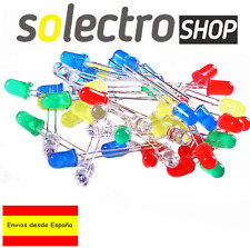 Kit 25 Diodos LED 5mm 5 colores RGBWY  Arduino  Electronica P0155