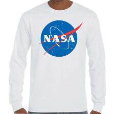 Nasa - Herren Geek Nerd Big Bang Theory Logo T-Shirt Retro Raum Sheldon
