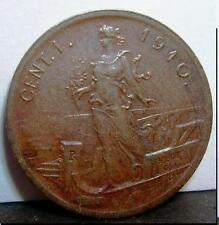 1 Centesimo 1910  conservazione BB