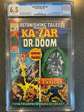 ASTONISHING TALES NO.6 CGC 6.5 1ST MOCKINGBIRD, DR. DOOM & BLACK PANTHER 2