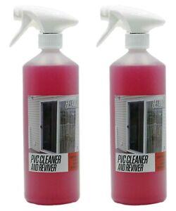 PVC Cleaner and Restorer - Trade Chemicals 2 x 1L Bottles Relancer