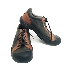 Sz 14 mens Shoes Keen Black Brown Lace up Casual