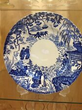 ROYAL CROWN DERBY 'Blue Mikado' Dinner Plate, Excellent Condition