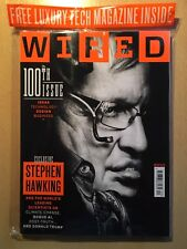 WIRED Magazine December 2017 Stephen Hawking Rogue AI Donald Trump 100TH SEALED