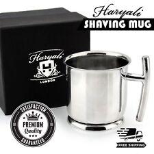 High Grade German Stainless Steel Men's Wet Shaving Mug/Bowl by Haryali London