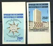 Camerun 1983 Mi. 997-998 Nuovo ** 100% Non dentellati