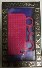 NEW Rebecca Minkoff Cranberry Iphone 4 4s Cell Phone Case Knuckle Duster