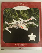 1998 Hallmark Star Wars X-Wing Starfighter Keepsake Magic Ornament NIB NEW IN