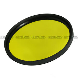 55mm Yellow Color Conversion filter Lens For Canon Nikon Olympus Pentax Camera
