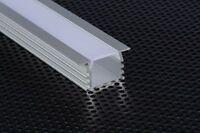 2m 2212 Profil Aluminium Encastré Pour Bandes Strip LED Barre Rigide 2MT