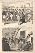 The Velocipede Race  -  New York Athletic Club at the Empire Rink   -  1868