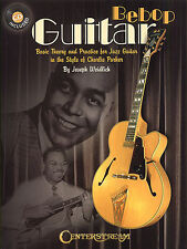 Bebop Guitar Basic Theory & Practice Learn Play Charlie Parker Music Book & CD