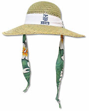 NEW KIDS ON THE BLOCK - CRUISE 2013 STRAW SUN HAT NEW OFFICIAL ADULT ONE SIZE