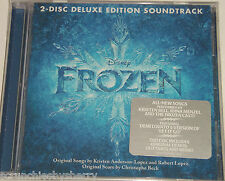 Disney Frozen CD Deluxe Edition Soundtrack 2 Disc Anna Elsa Sealed New