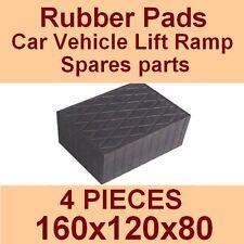 Universal Scissor Lift Pads - H80 - Ramp Rubber Blocks - Made in Italy