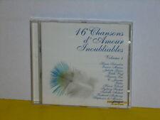 CD - 16 CHANSONS D'AMOUR INOUBLIABLES - VOLUME 1