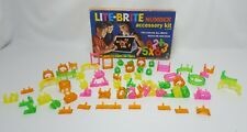 Vintage 1968 LITE BRITE Peg Accessory Kit NUMBERS SYMBOLS SHAPES