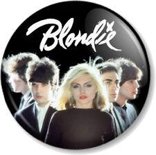 BLONDIE BAND 25mm Pin Button Badge Logo Punk Rock Pop Music Atomic Debbie Harry