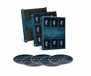 Game of Thrones Die komplette sechste Staffel 5 DVD Box Set Edition + Bonus Neu