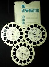 VIEW MASTER 21 PHOTOS EN RELIEF - La Costa Brava - années 60