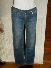 Pantalon jean taille basse LE TEMPS DES CERISES 302 ASTI  w28 38 stretch 19ST13