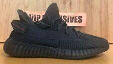 Adidas Yeezy Boost 350 V2 negro (no reflectante) FU9006 Talla 4-14 100% Auténticas