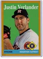 Justin Verlander 2019 Topps Archives 5x7 Gold #26 /10 Astros