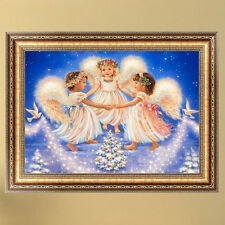 DIY 5d Diamond Embroidery Painting Happy Little Angels Cross Stitch Home Decor