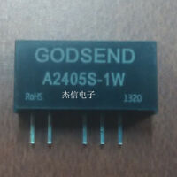 1pcs A2405S-1W DC-DC boost and depressurization power supply module new