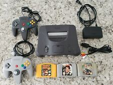 Nintendo 64 Charcoal Grey Console