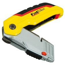 Stanley Fatmax RETRACTABLE FOLDING UTILITY KNIFE with 3 Blades 10-825