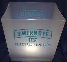 Light-up Smirnoff Ice Electric Ice Bucket beer bar