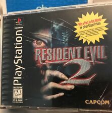 Resident Evil 2: Dual Shock (Sony PlayStation 1, 1998) Complete Tested Works