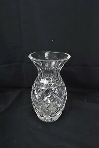 Waterford Crystal Vase Comeragh Pineapple Flower Clear Glass Ireland