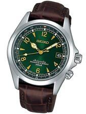 SEIKO SARB017 Mechanical Alpinist Automatic Men/s Leather Watch *UK* TAX FREE