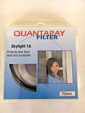 Quantaray 72mm Skyligtht 1A Glass Lens Filter