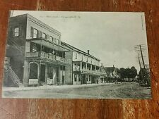 Vintage advertising postcard cowansville,quebec canada pictures photo