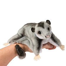 """Douglas Cuddle Toy Squeek Sugar Glider 12"""" Long with Tail"""